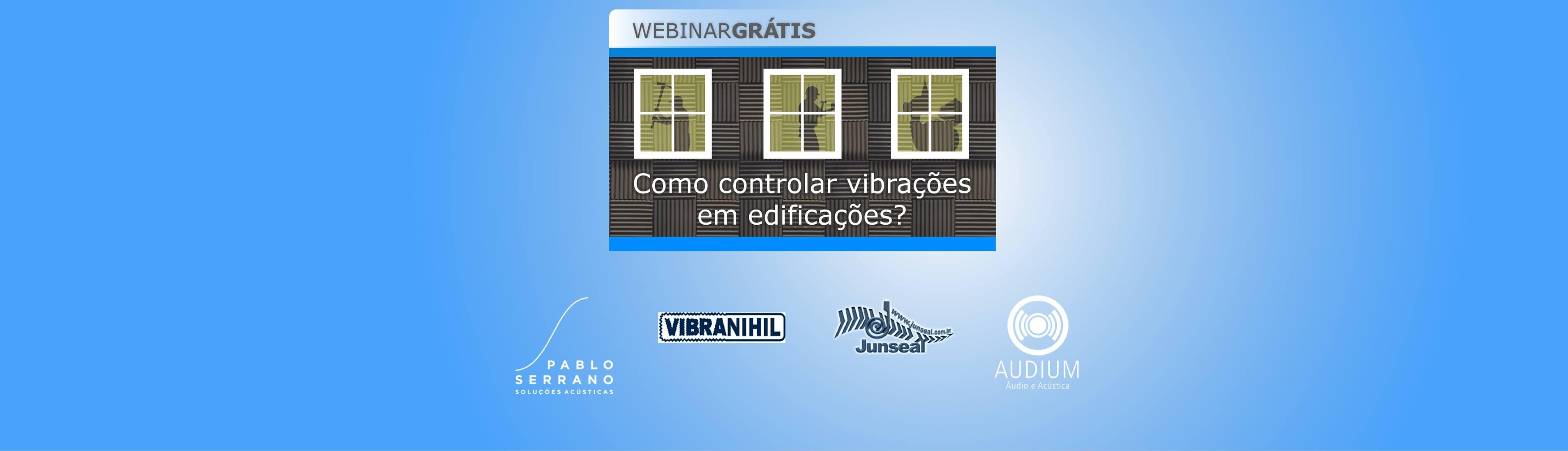 Banner webinar de vibrações