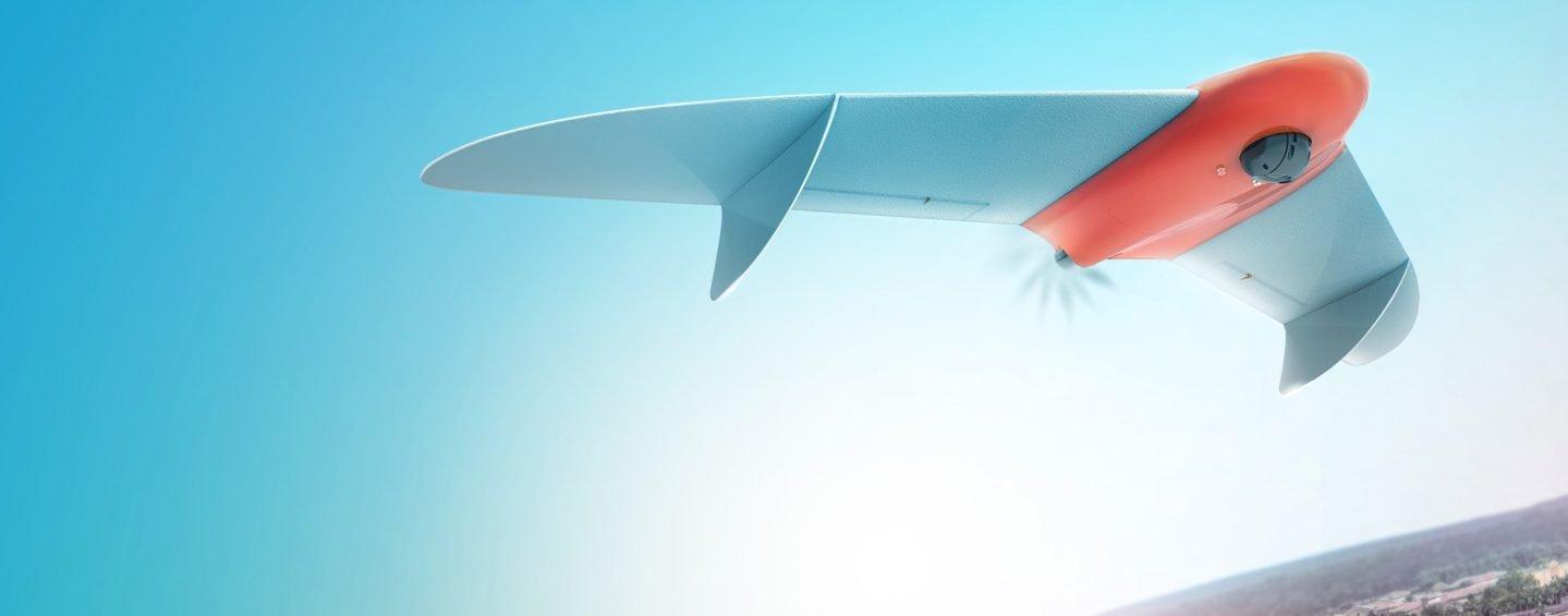 Drone da Geoscan para mapeamento do meio ambiente.
