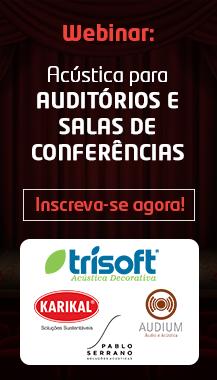 Live Acústica para auditórios e salas de conferência