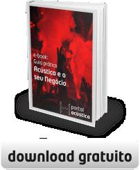 Capa e-Book: Guia prático: Acústica e o seu negócio