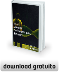 Capa e-Book: Guia de Softwares para Acústica