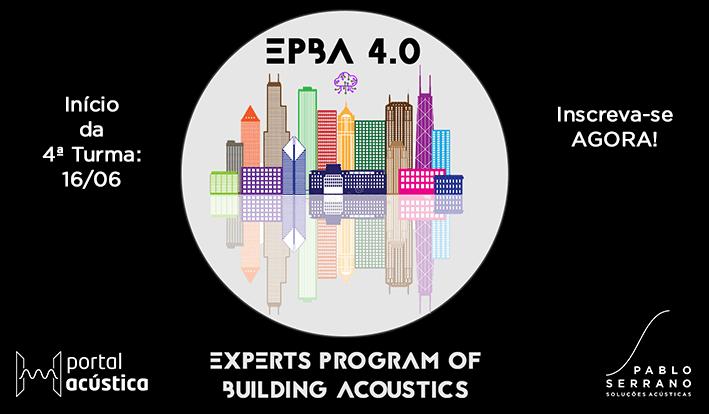 Turma 4 do maior programa de acústica em edificações 100% online do Brasil!